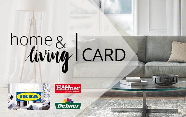 [CB] home & living Card Geschenkgutschein mit 6% Rabatt (OTTO,IKEA,GALERIA KAUFHOF und mehr..mit Trick auch AMAZON möglich)