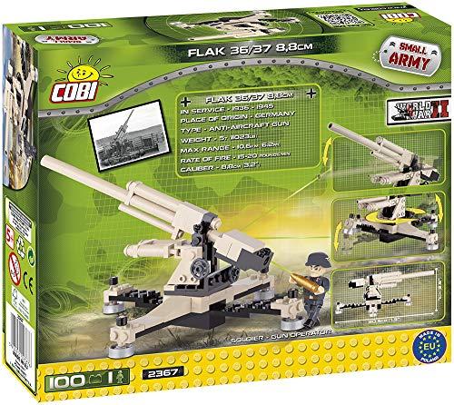 Cobi WW2 Flak 36/37 88mm Klemmbausteine Bausatz [Amazon Prime] & [Thalia Classic]