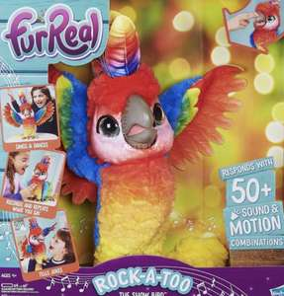 Hasbro FurReal Pauli, mein singender Plappagei