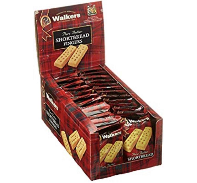 (Personalisiert) Walkers Pure Butter Shortbread Fingers 40 Prozent für die erste Spartabo Lieferung