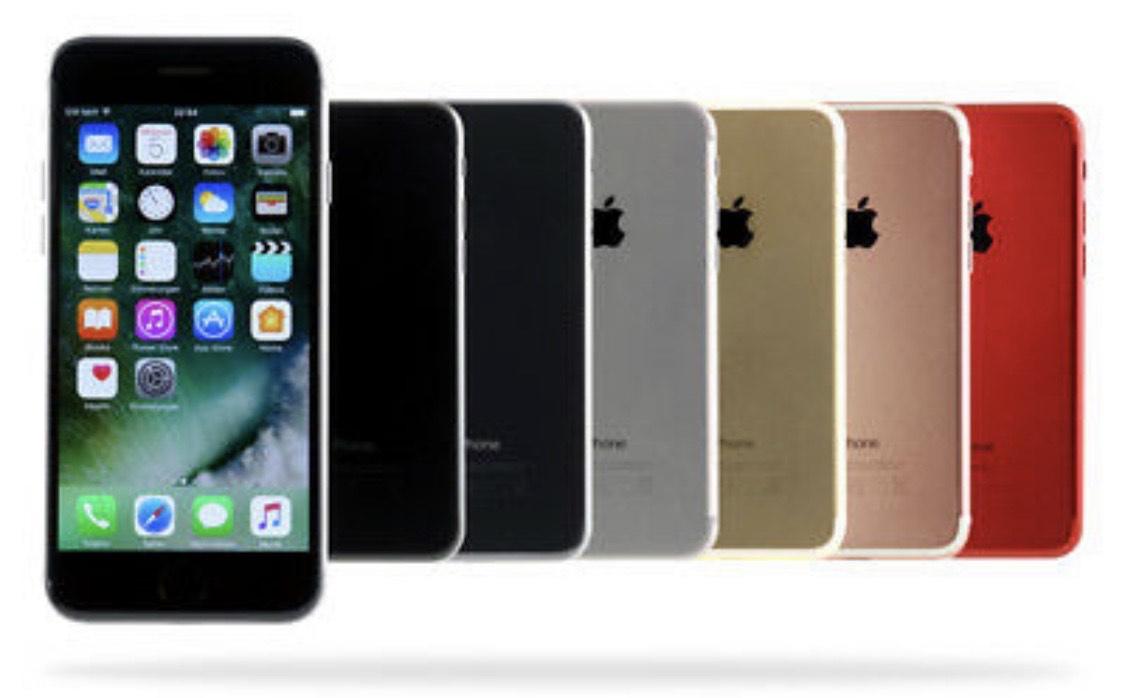 Apple iPhone 7 / 128GB / Schwarz/Diamantschwarz)Ebay Garantie[gebraucht] differenzbesteuert