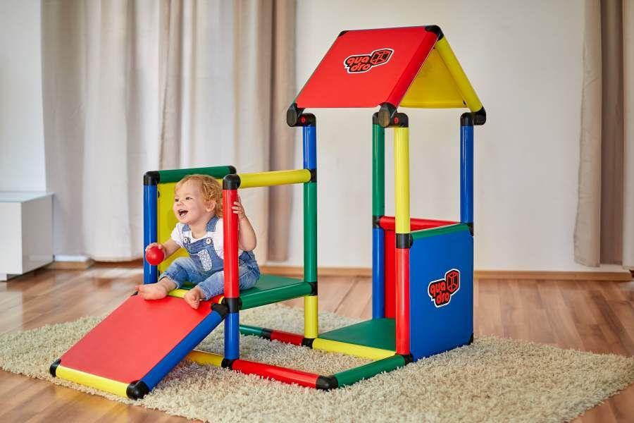 Quadro Adventure, Klettergerüst für drinnen und draußen, 220 Teile,marktkauf/Ecenter/Scheck-In Center 99,99€ [regional]