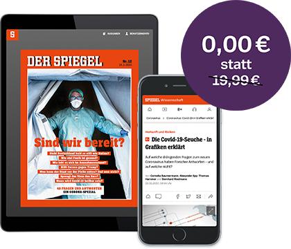 Spiegel digital und Spiegel+ einen Monat für 0€