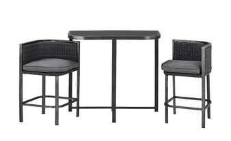 Hochwertiges Tischset für kleine Balkone