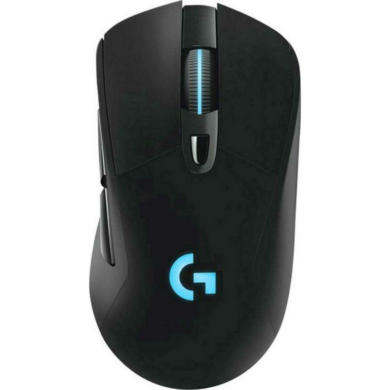 Logitech G703 Lightspeed kabellose Gaming-Maus (100-16.000 DPI, Hero 16K-Sensor, Lightsync RGB)