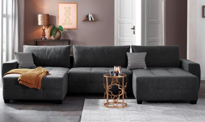 20% Rabatt auf die Marke Home Affair bei [Cnouch]z.B. Wohnlandschaft Bella (354cm x 45cm x 55cm)
