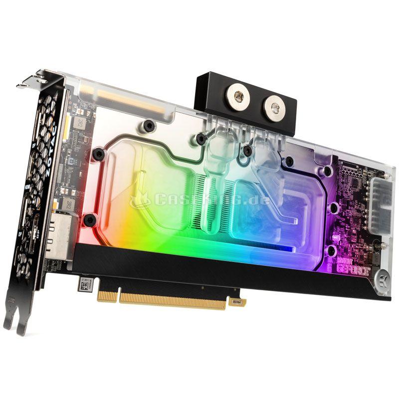 ZOTAC GAMING GeForce RTX 2080 Ti mit vormontierten EKWB-Kühlblock