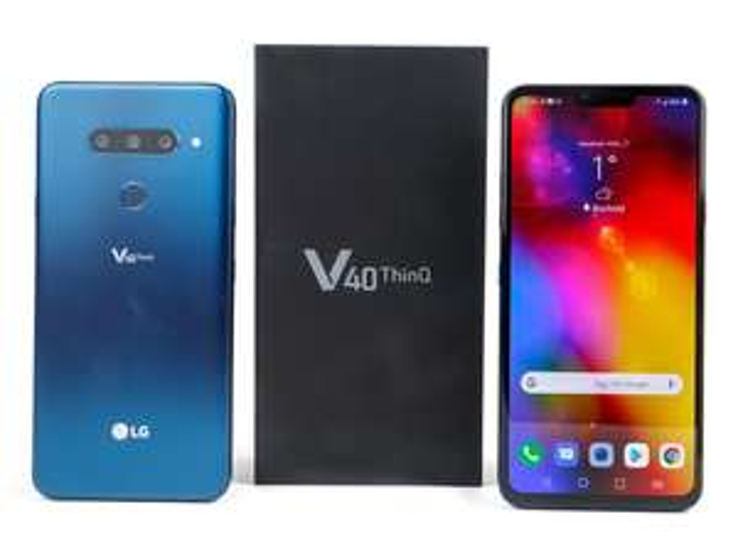 LG V40, 128GB, Morocan Blue
