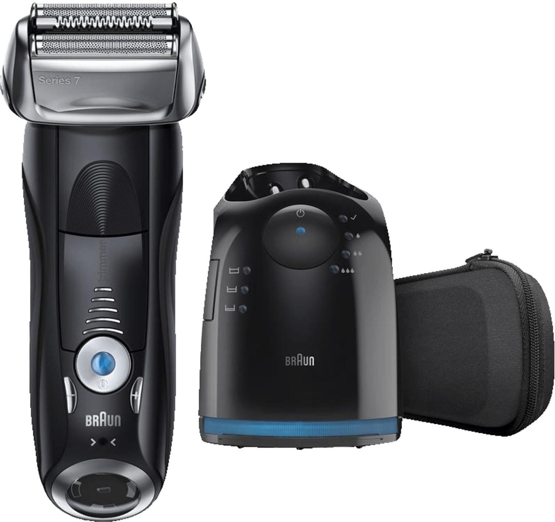 Braun Series 7 Elektrischer Rasierer 760 cc-6, mit Reinigungsstation Clean&Charge