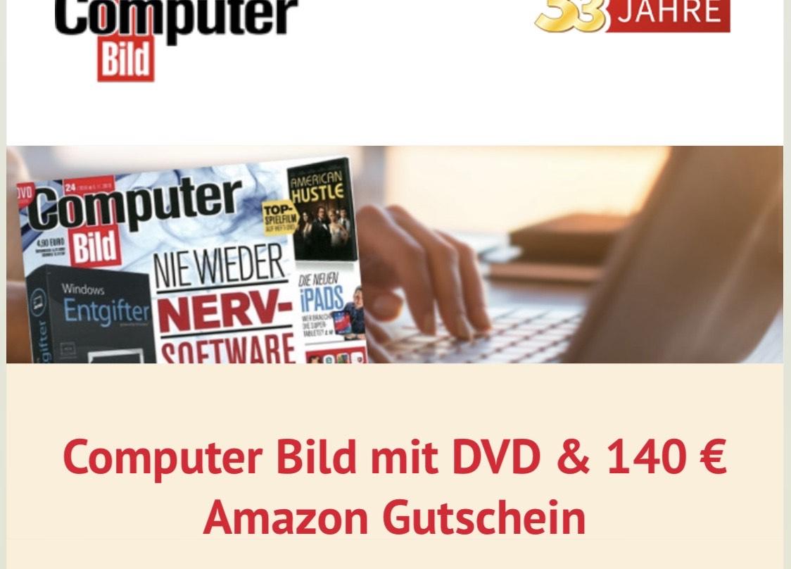 Computer Bild lesen + 140€ Gutschein