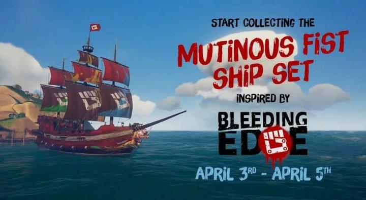 Bleeding Edge Fist Ship Set für Sea of Thieves (Xbox One) kostenlos