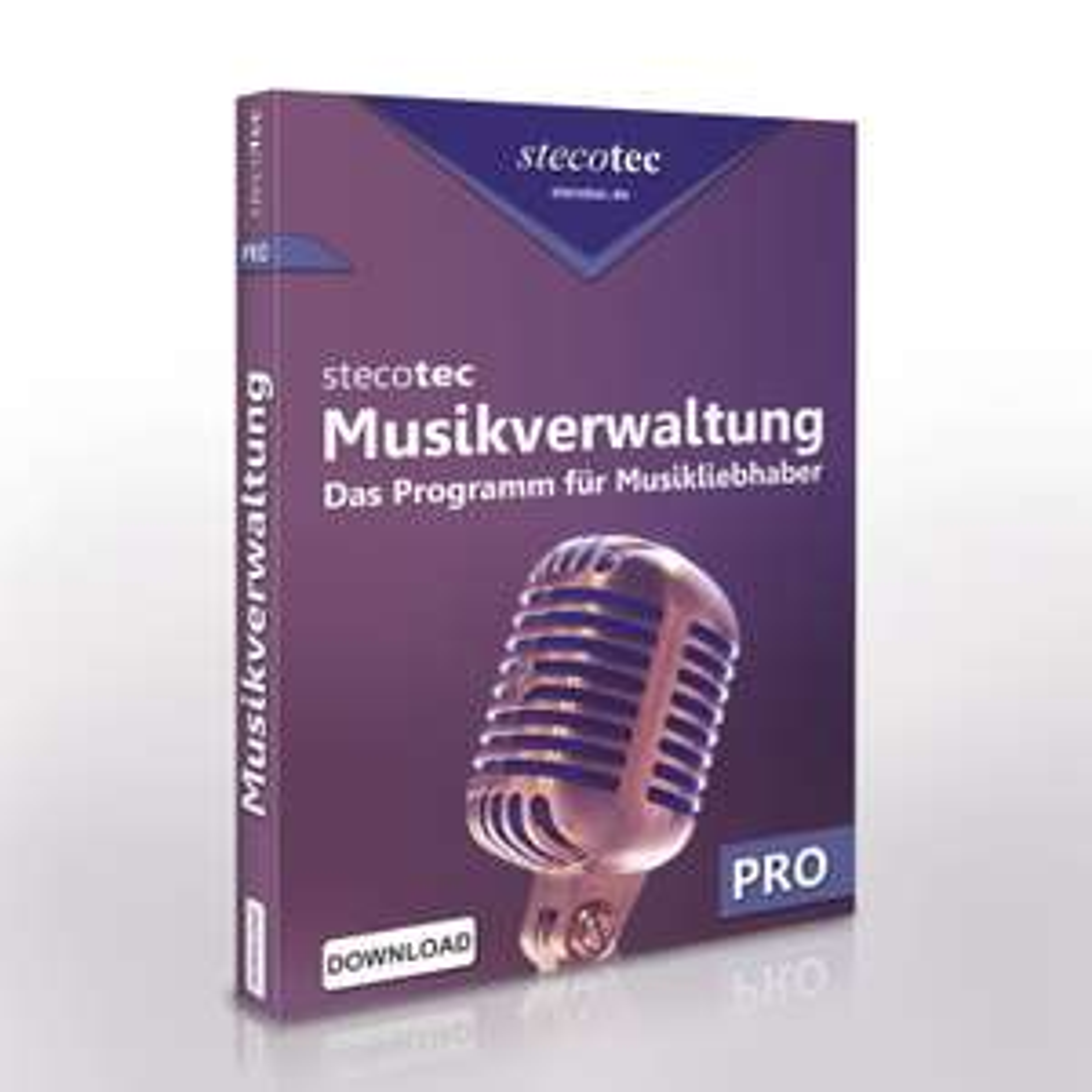 Stecotec Musikverwaltung Pro - Programm für Musikliebhaber