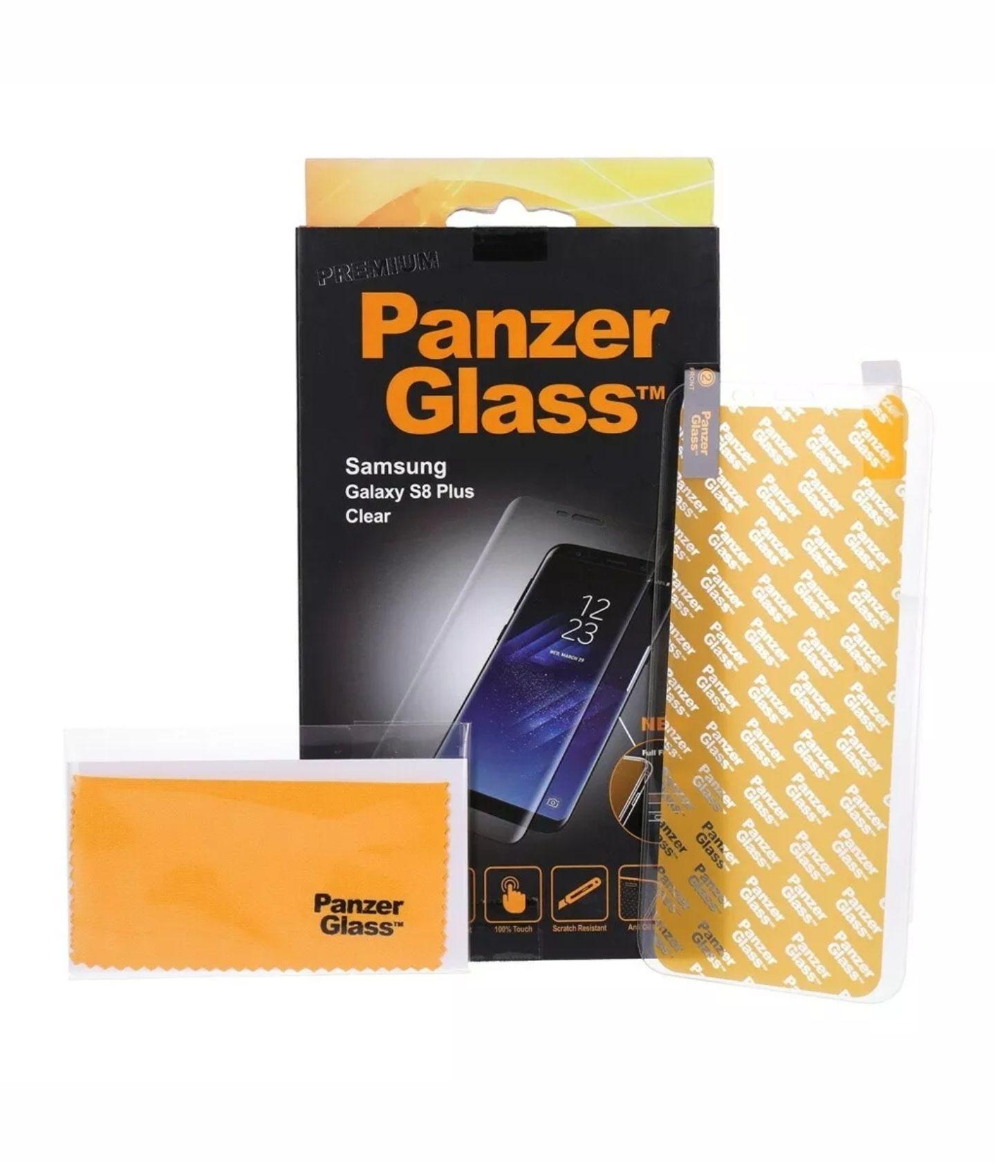 PanzerGlass Displayschutzglas für Samsung Galaxy S8 Plus Neu & OVP