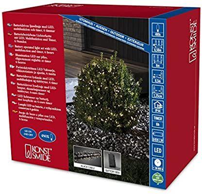 Konstsmide Weihnachtsbeleuchtung antizyklisch kaufen. Haufenweise im Angebot bei Amazon z. B. 3812-100 Micro LED Lichterkette, gefrostet