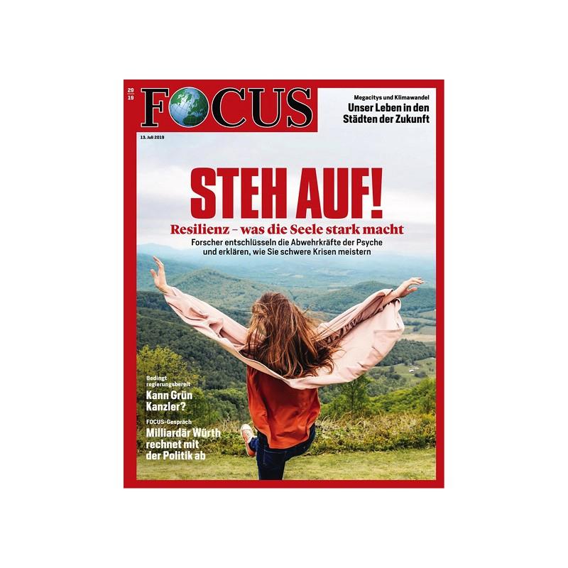 Focus Jahresabo mit 52 Ausgaben, keine automatische Verlängerung