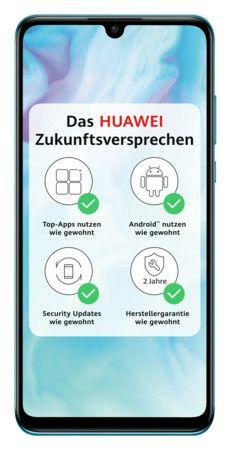 Huawei P30 lite Dual-SIM Breathing Crystal Smartphone (6,15 Zoll, 128GB, 3.340-mAh, Octa-Core, 48 MP, Triple-Kamera)