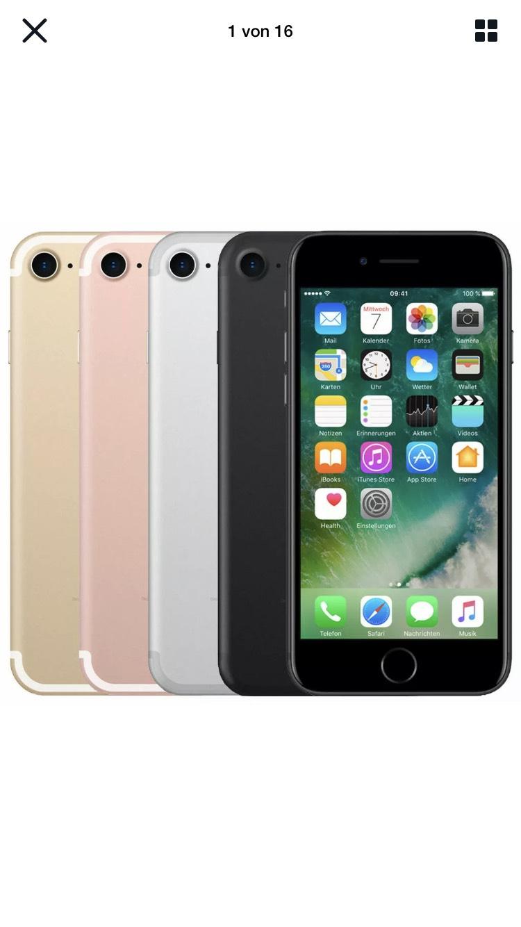 iPhone 7 128GB gebraucht (Sehr gut) - 199,80€