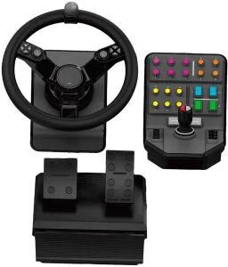 Logitech G Landwirtschafts-Simulator Bundle 2. Generation Lenkrad-Controller inkl. Gas & Bremspedale (PC/PS4) für 133,99€ (Saturn)
