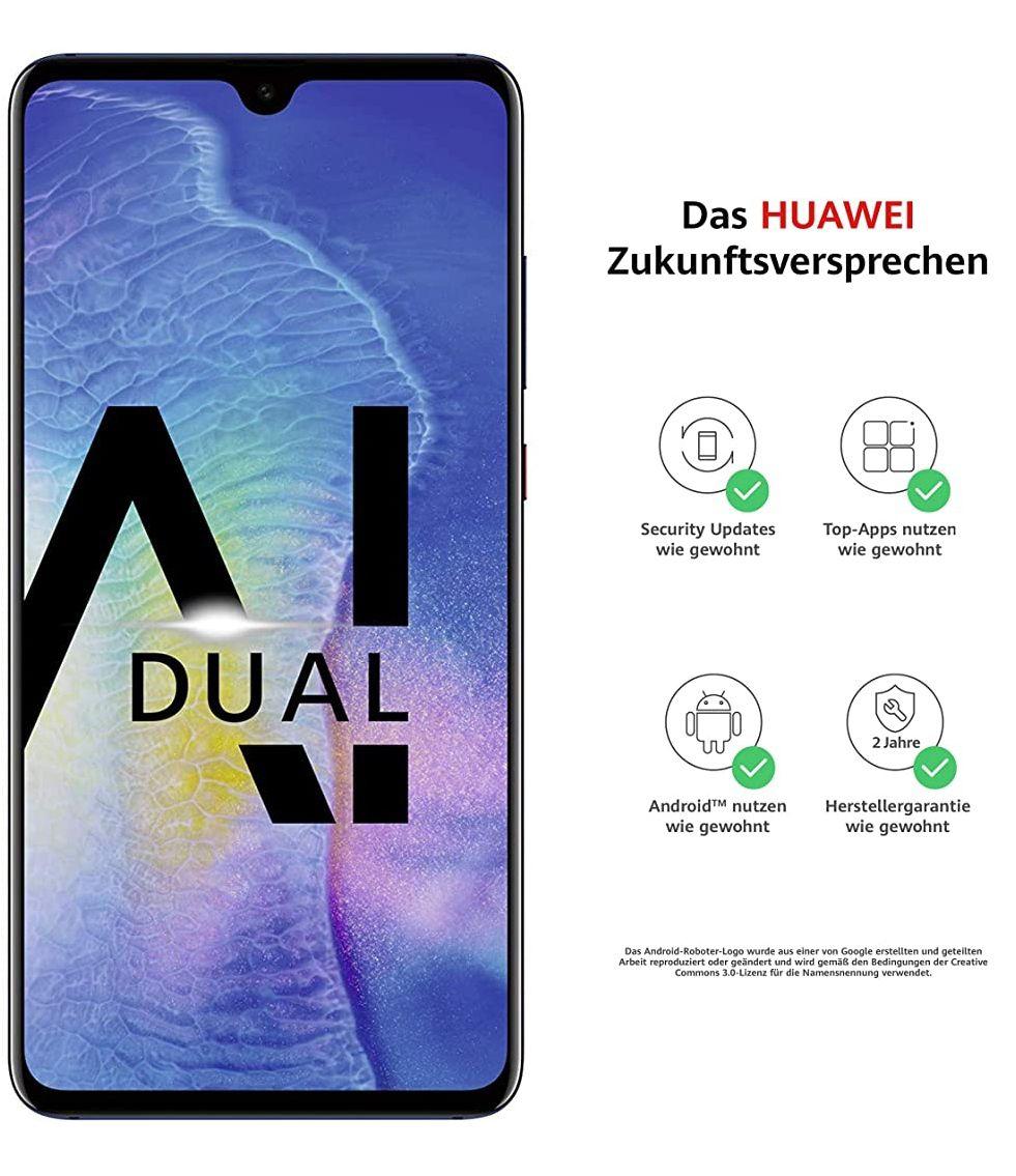 Huawei Mate 20, 4GB/128GB, Dual-SIM, blau, V&V Amazon