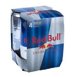 48 (12x4) Dose Red Bull Energy Drink 0,25l