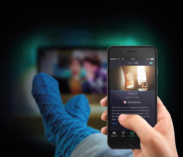 Waipu.TV 12 Monate Perfect Paket inkl. Google Chromecast bei Groupon
