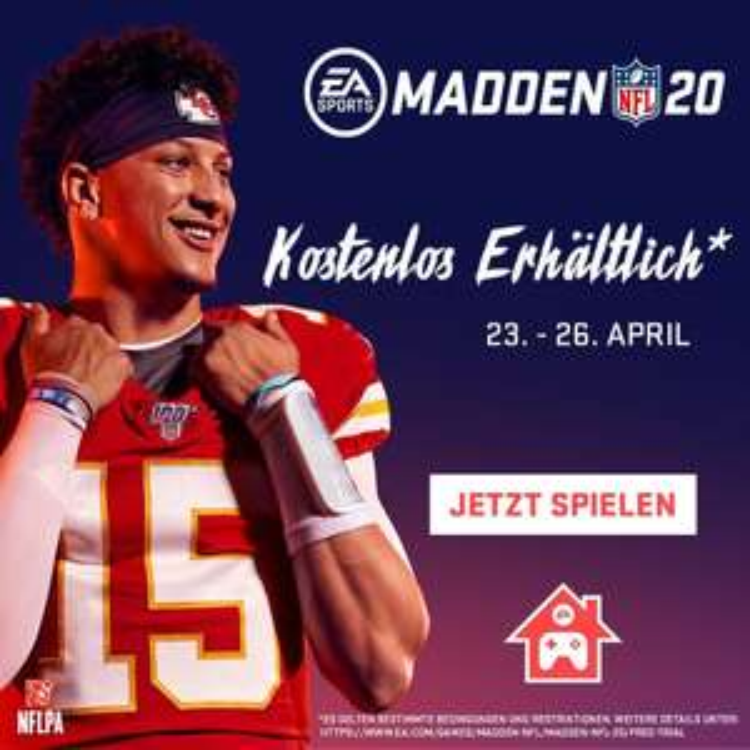 Madden NFL 20 kostenlos spielen PS4/ Xbox