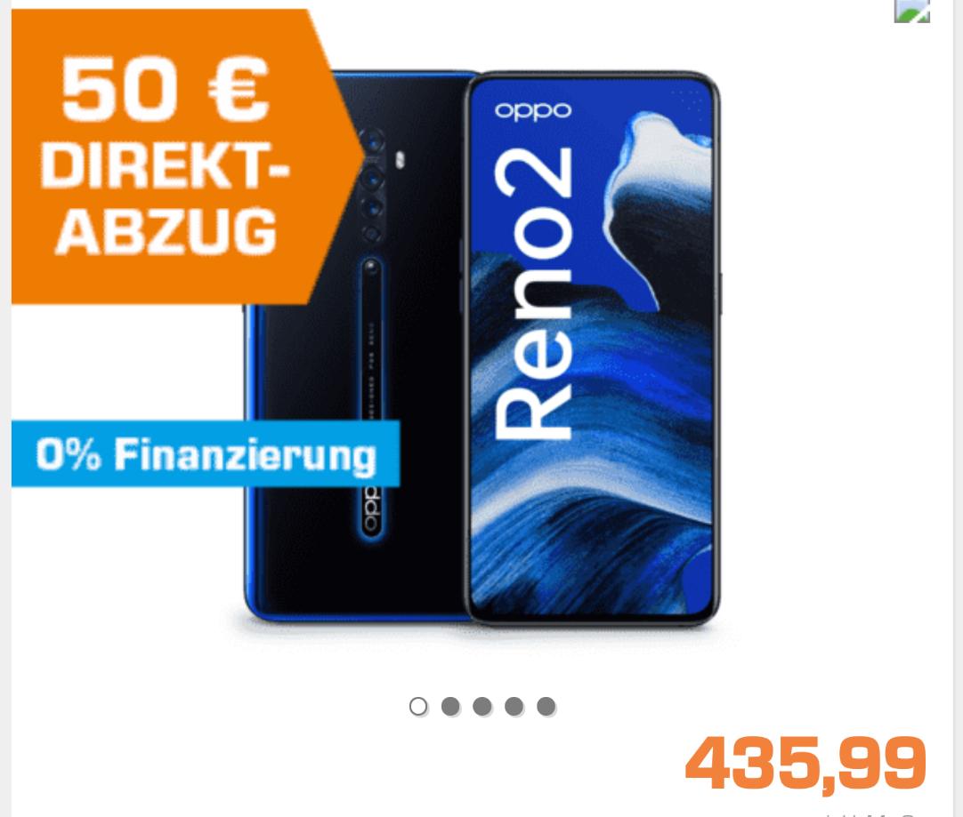 Oppo Reno 2 für 339,99€ bei Saturn mit NL Gutschein