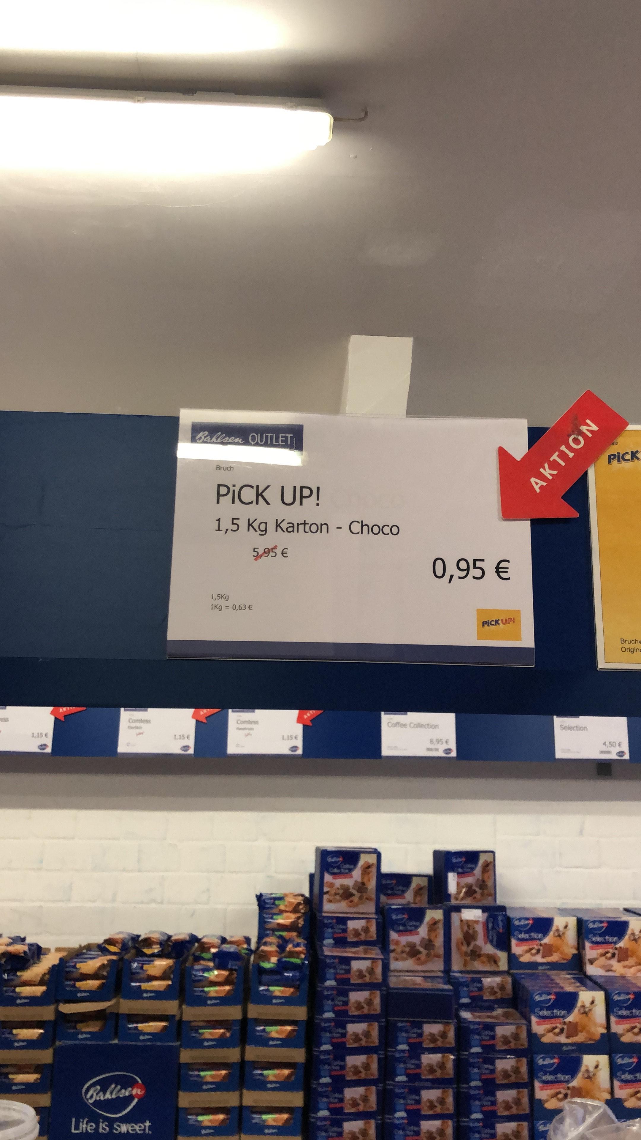 [LOKAL] Leibniz PickUP! 1,5 Kg Bruchware Bahlsen Outlet