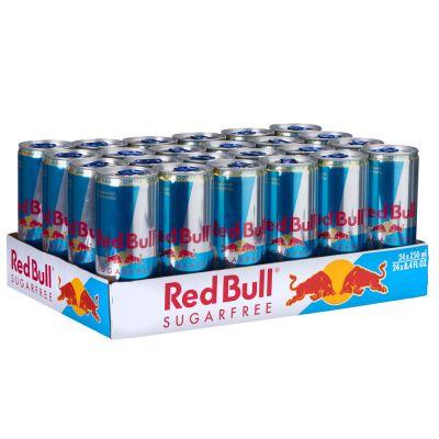 [Zoobee Bestandskunden] 48 Dosen Red Bull Sugarfree für 0,75€ pro Dose + Pfand inkl. Lieferung