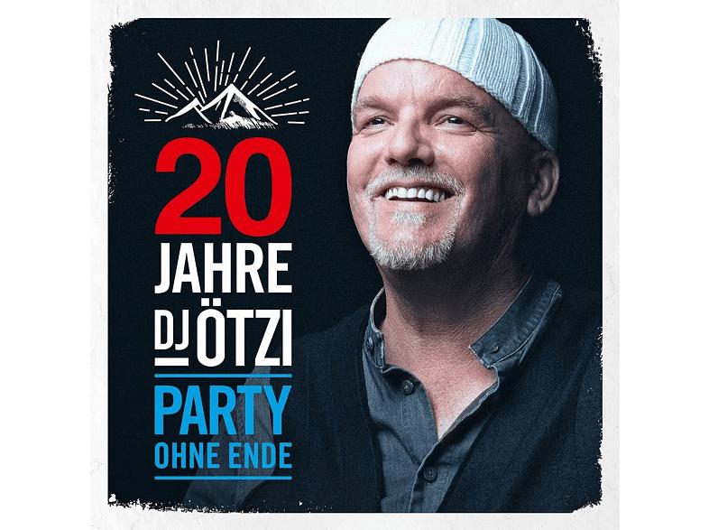 DJ Ötzi 20 Jahre DJ Ötzi Party Ohne Ende CD (2 CD's)