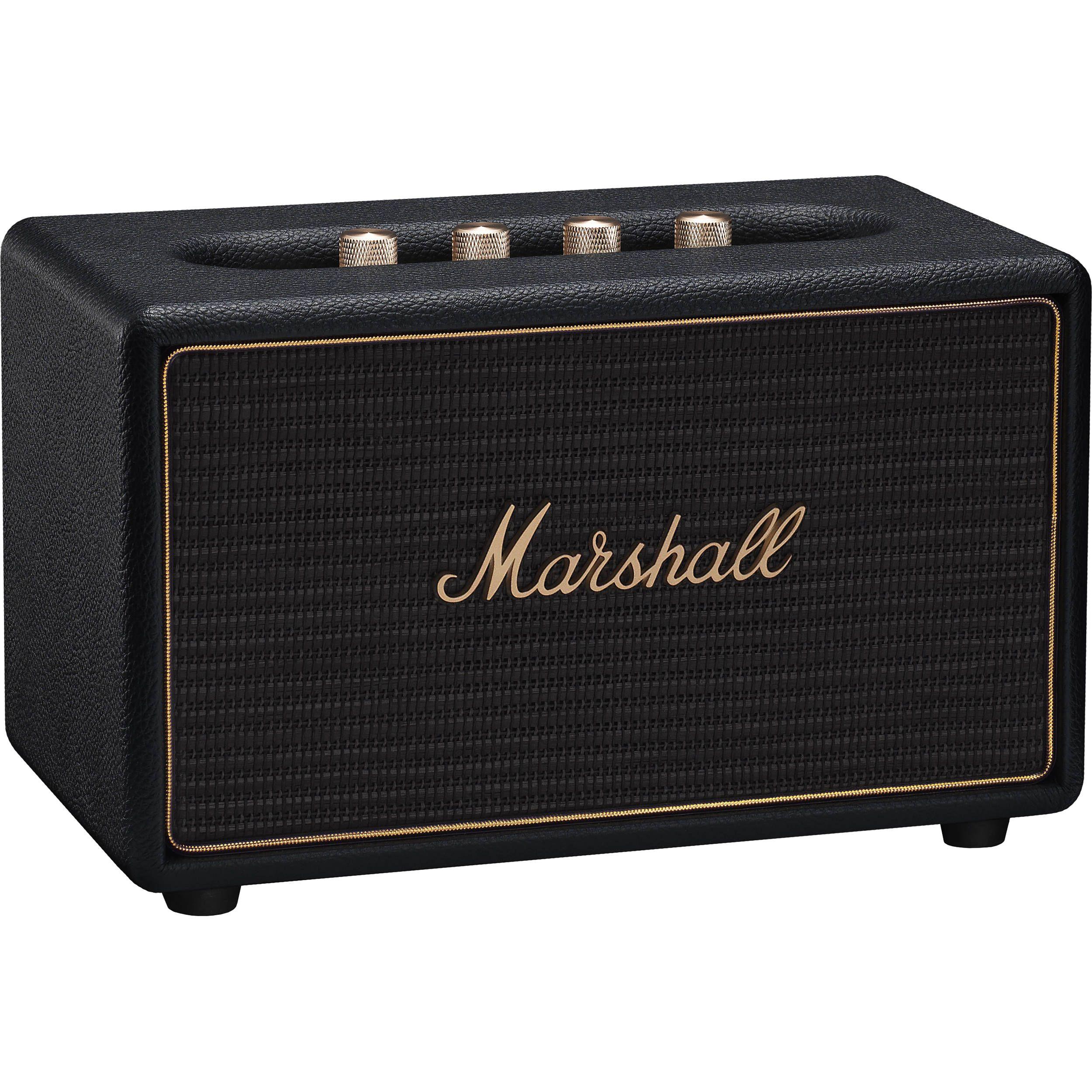 Marshall Acton Multiroom: Lautsprecher (WiFi, Bluetooth, Chromecast, AirPlay, Spotify Connect)