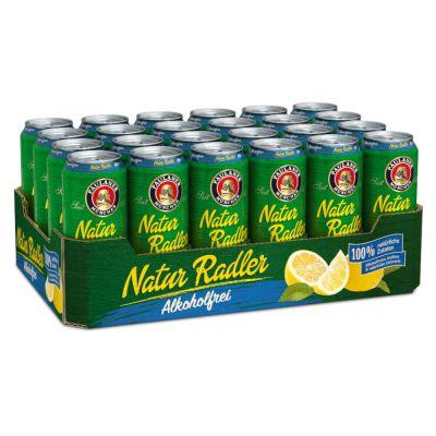 Paulaner Natur Radler alkoholfrei, 48 Dosen für 39,98 inclusive Pfand