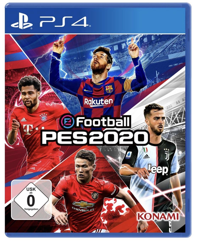 PES 2020 Pro Evolution Soccer PS4 für 20,90€ inkl. Versandkosten