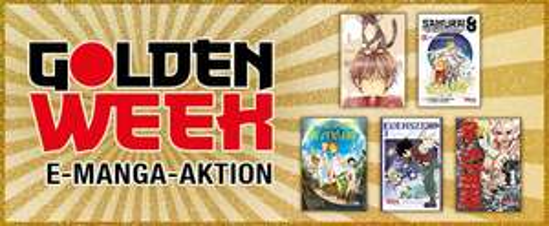 E-Mangas ab 0,99€: Golden Week bei Carlsen Manga