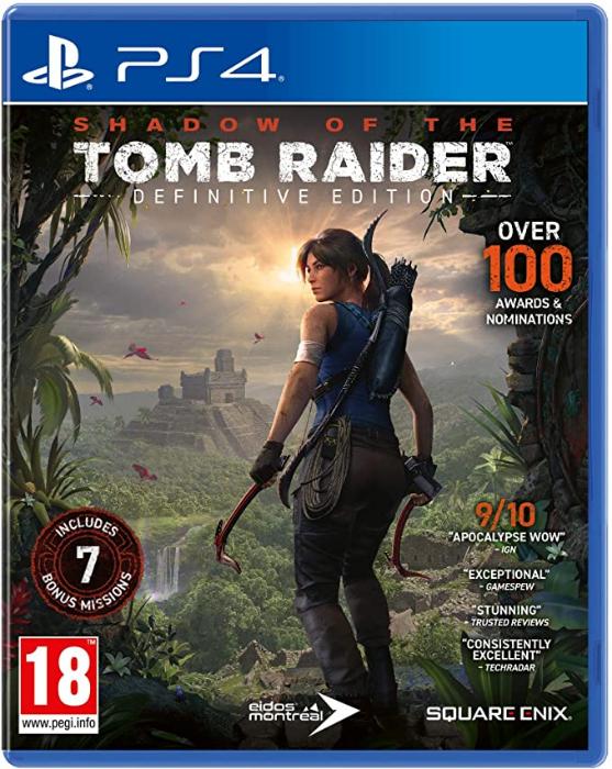 Shadow of the Tomb Raider: Definitive Edition (PS4) für 22,82€ inkl. Versand (Amazon UK)
