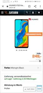 Huawei P30 Lite New Edition 256 GB inkl. Band 4 Pro