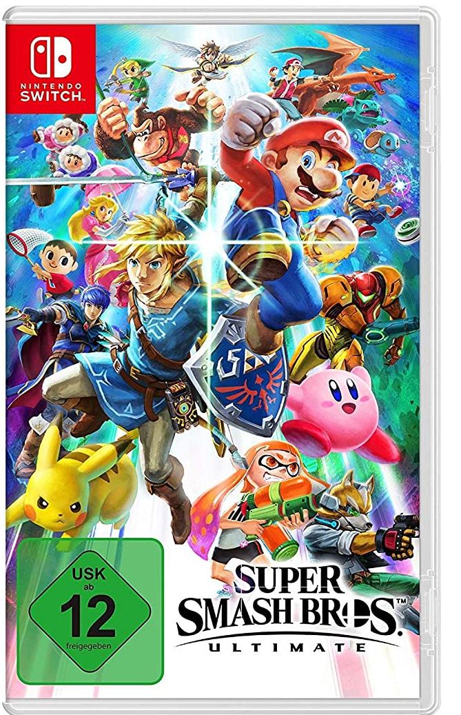 Super Smash Bros. Ultimate - [Nintendo Switch] Mehrere Games zu dem Preis siehe Beschreibung