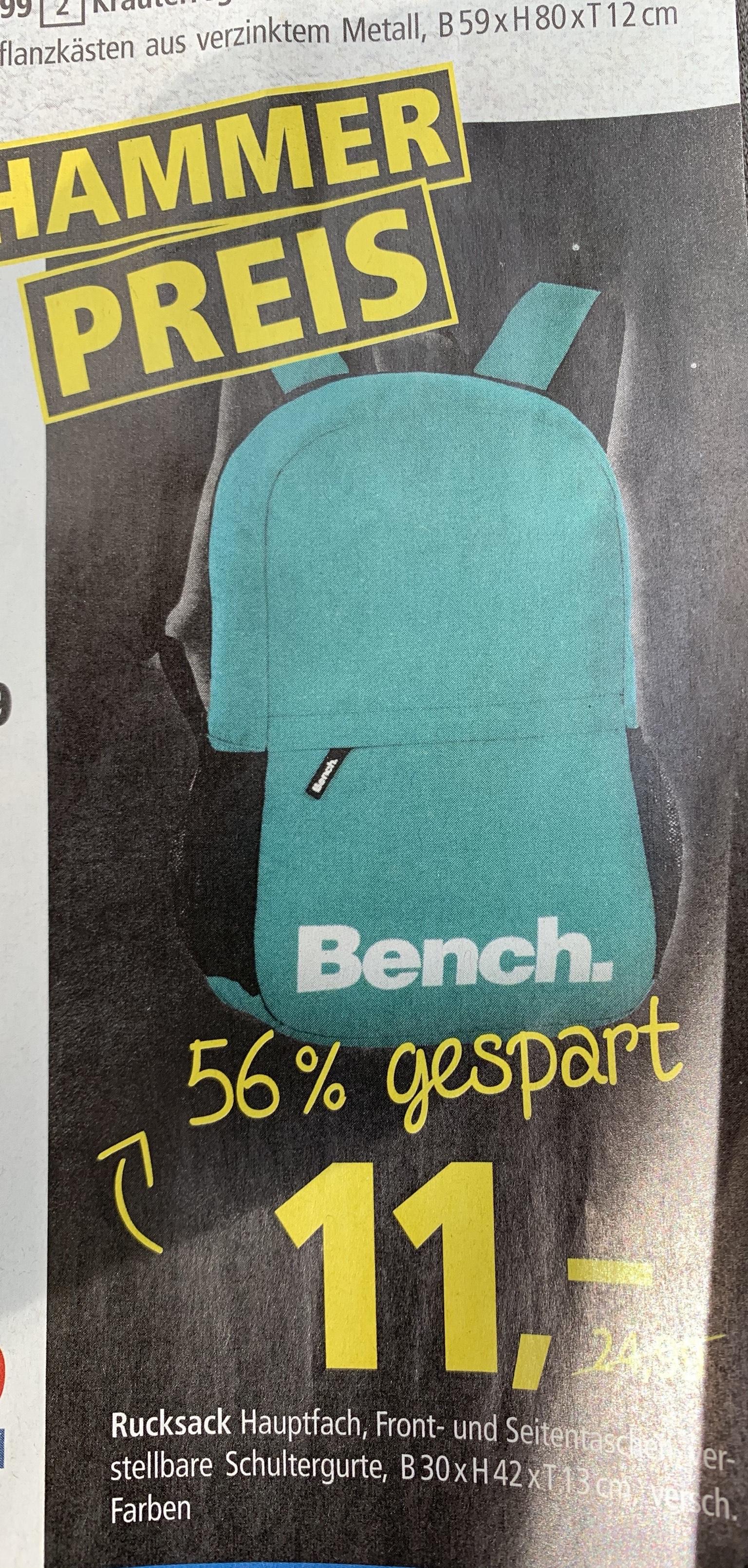 Bench Rucksack bei Pfennigpfeiffer versch. Farben