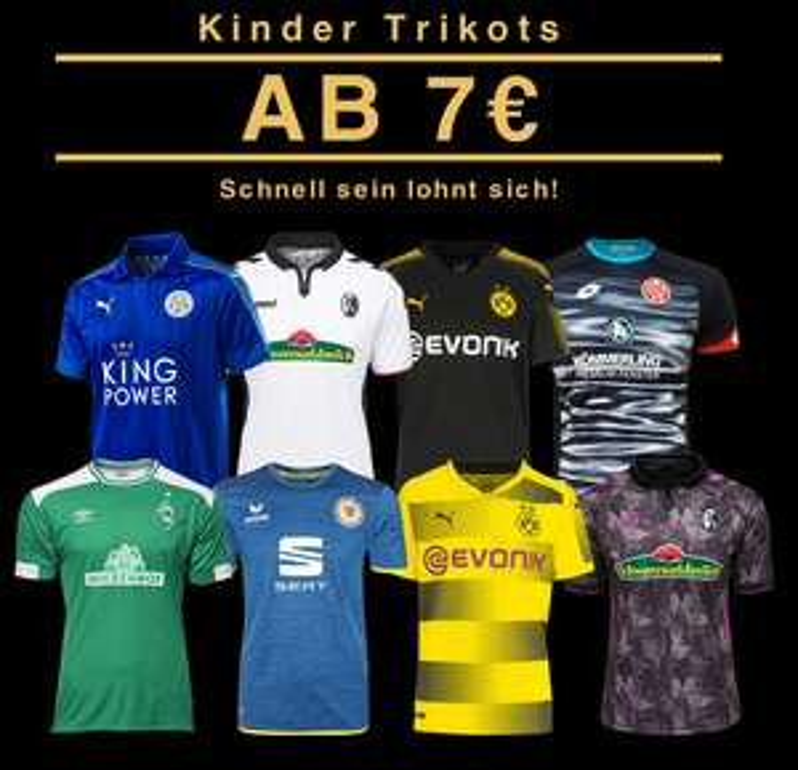 DERBY-SPECIAL - Alle BVB Borussia Dortmund und FC Schalke 04 Sachen versandkostenfrei @ Sport-1a