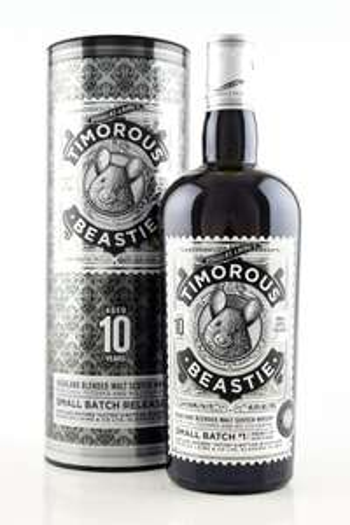 Timorous Beastie 10 Jahre Highland Blended Malt Whisky Douglas Laing 46,8%vol. 0,7l