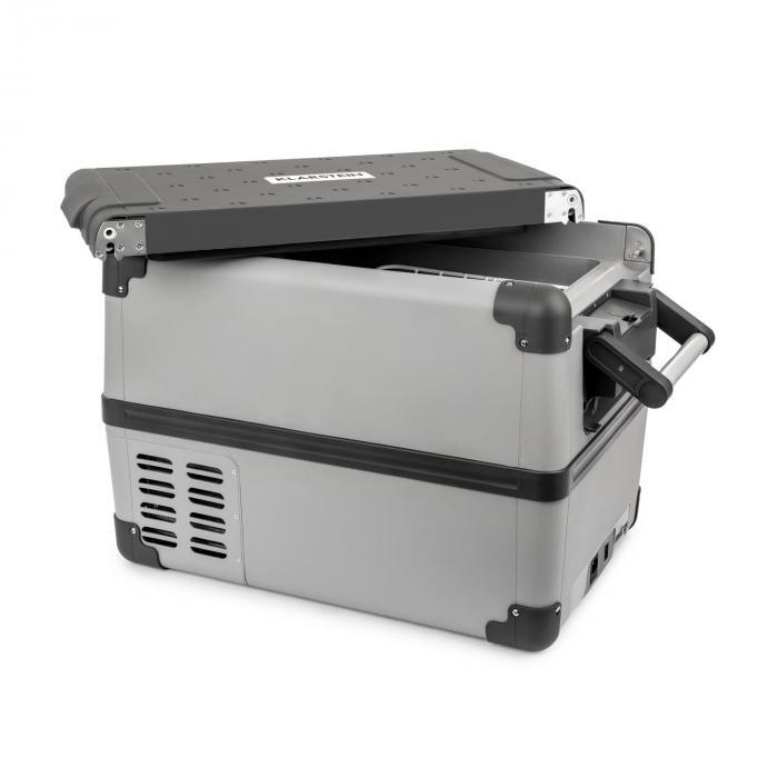 Klarstein Survivor 35 - Kompressor-Kühlbox (-22° bis 10°), Display, 35 Liter Inhalt, AC/DC,