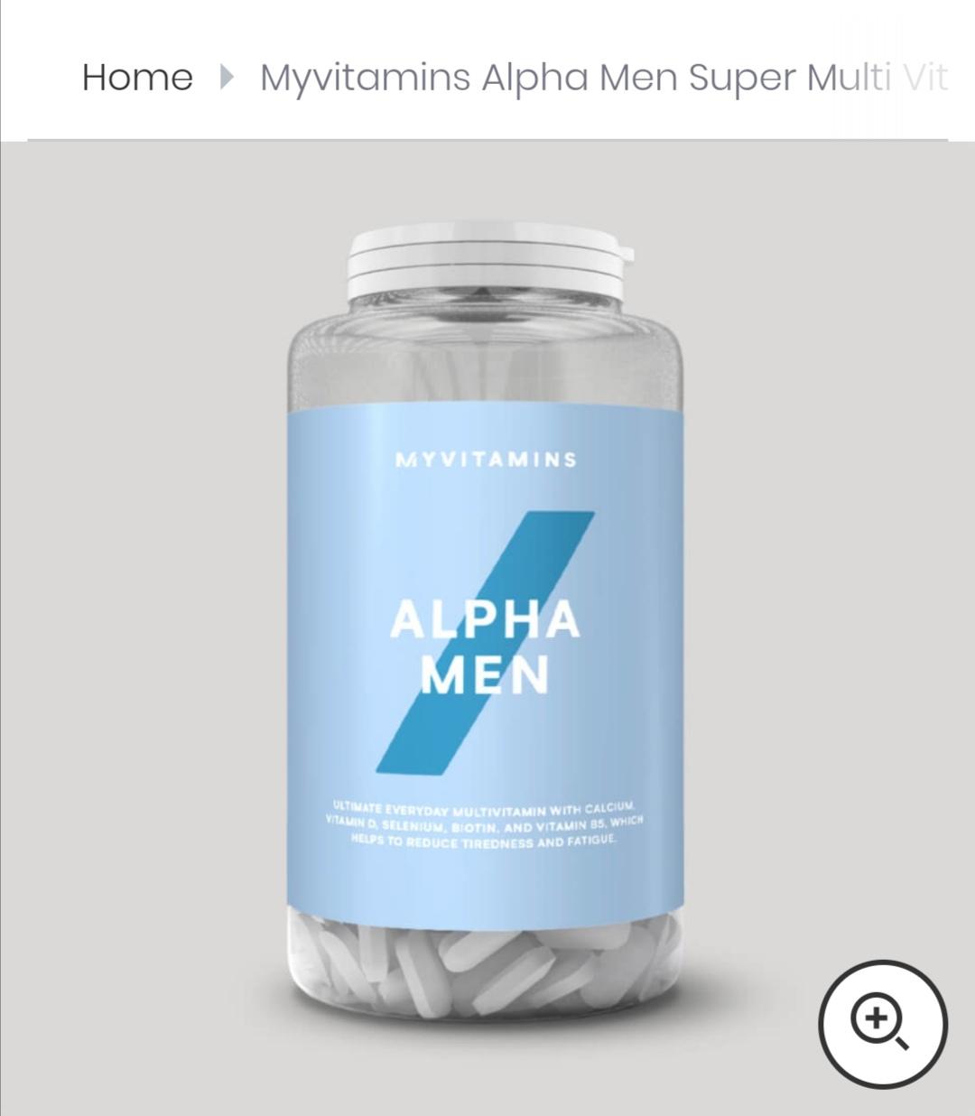 MyVitamins Alpha Men Super Multivitamin 240 Stück *Versandkostenfrei*