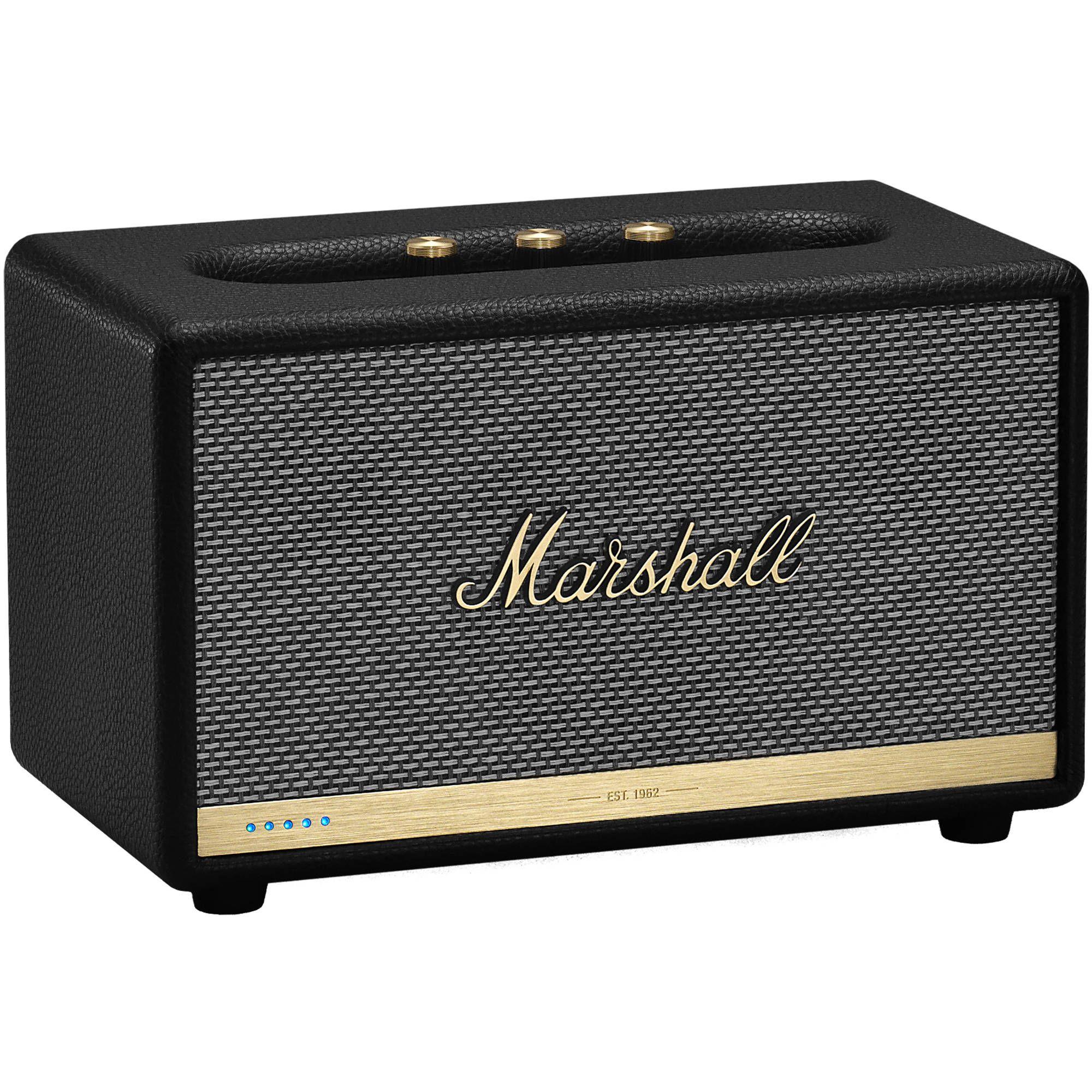 Marshall Acton II Voice: Lautsprecher mit Sprachassistent (Google Assistant, Multiroom, Chromecast)