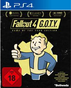 Fallout 4: Game of the Year Edition (PS4) für 17,99€ (Müller Abholung)
