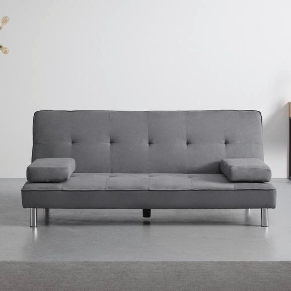 Bessagi Home 'Esther' Sofa mit Schlaffunktion in Grau