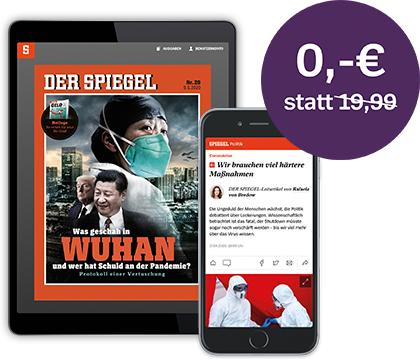 [DER SPIEGEL] Digitale Ausgabe & Spiegel+ einen Monat gratis lesen