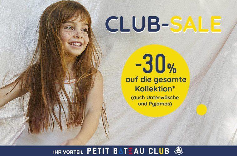 Petit Bateau - 30% auf alles!