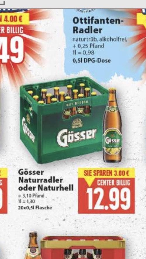 [Edeka Minden-Hannover] Kiste Gösser Naturradler 20x0,5l