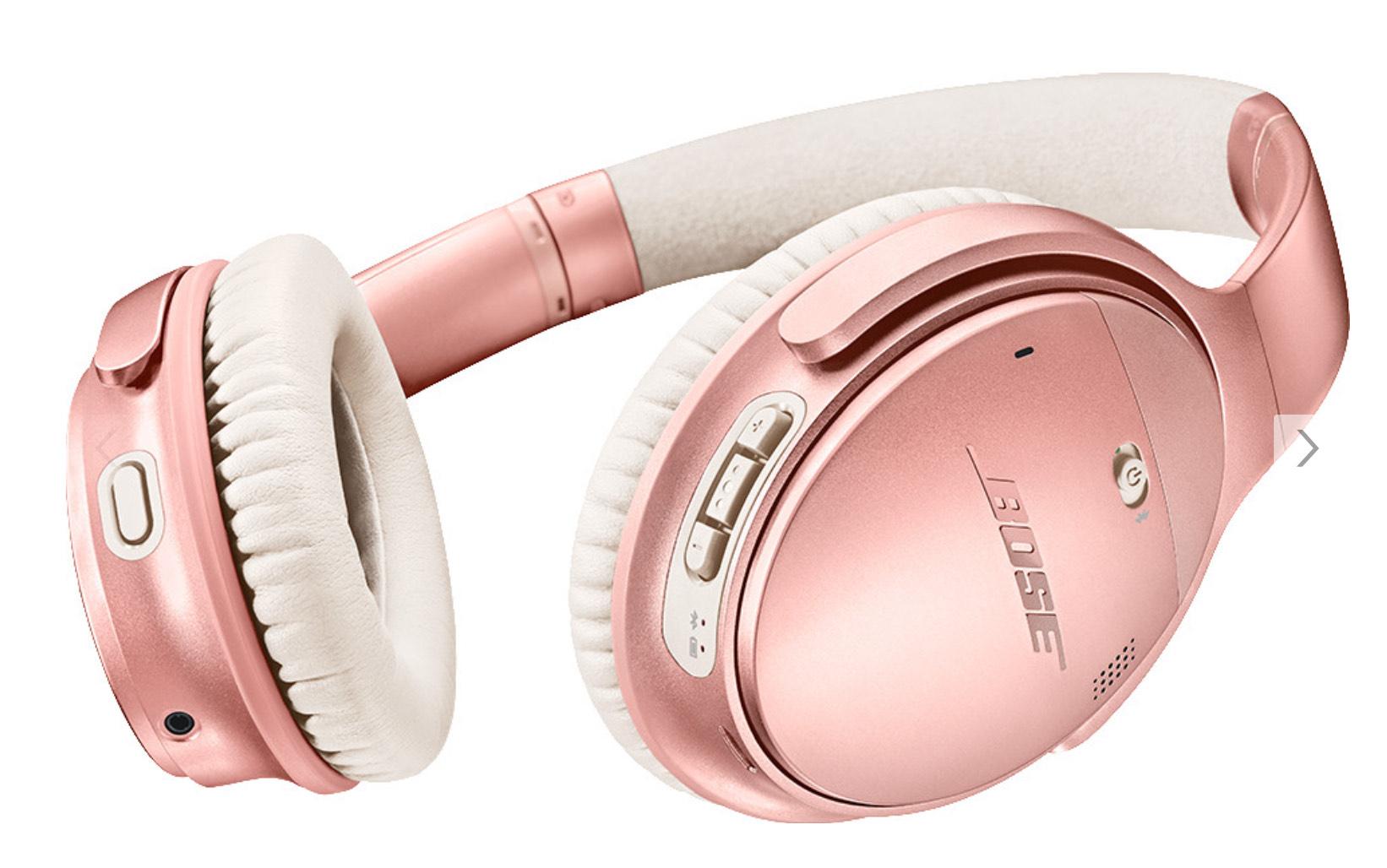 Bose QuietComfort 35 Wireless Kopfhörer II roségold