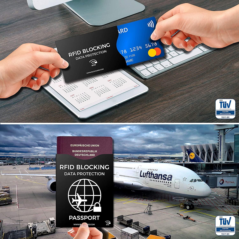 RFID NFC Schutzhüllen 12 Stück - Amazon